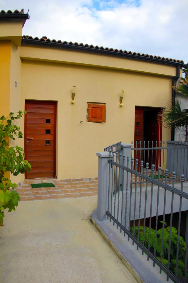 Villa Marija Baska vhod v apartma