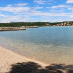 Plaža Soline - otok Krk