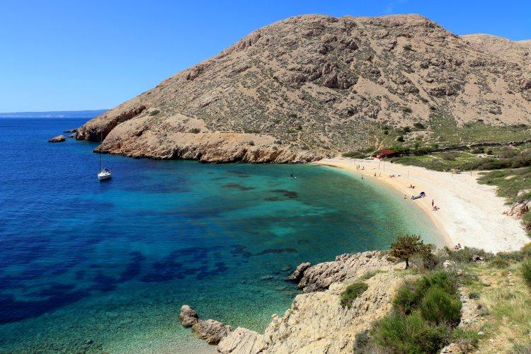 plaža Oprna
